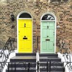 Удивительно красивые двери лондонских улиц