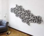 Ажурный радиатор и ширма-бабочка от Йориса Лаaрмана