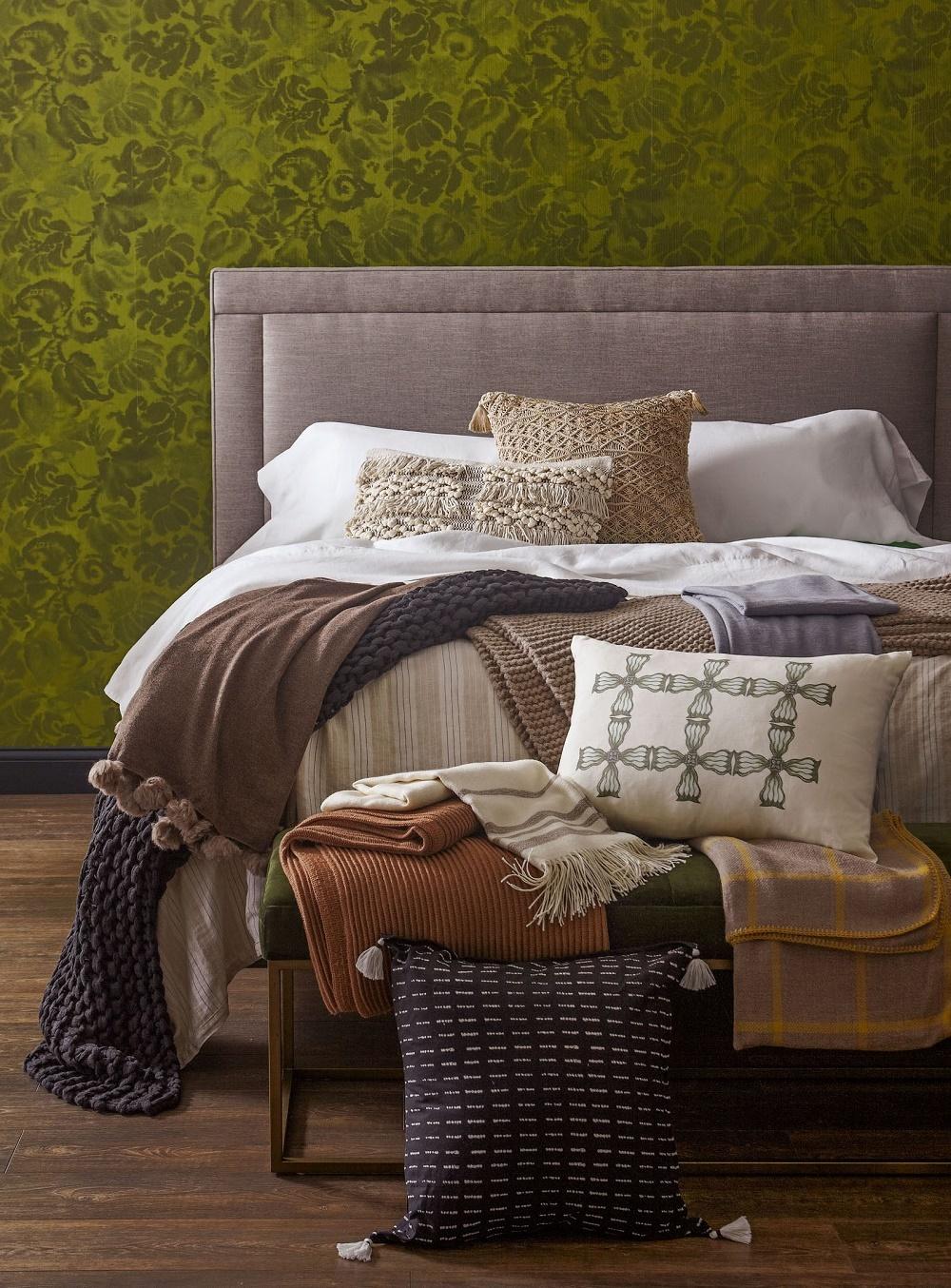 текстиль с бахромой