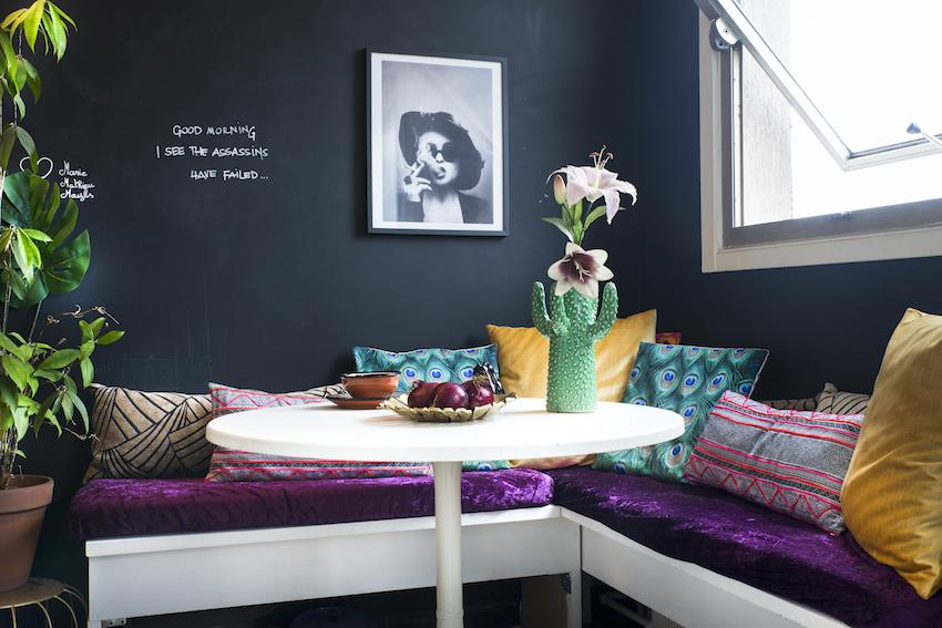 дизайн интерьера - обеденный стол