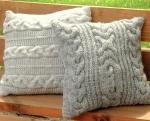 Диванная подушка своими руками: фото-примеры