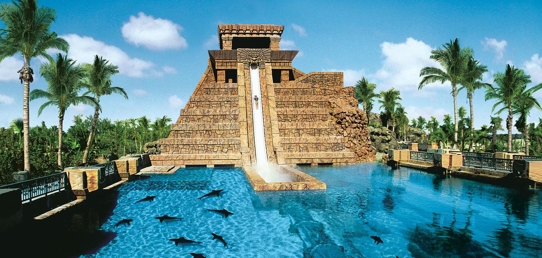 Горка Leap of Faith, остров Парадайз, Багамы
