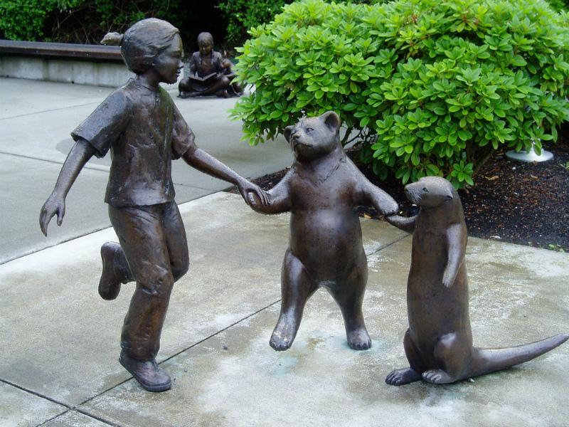 Скульптуры Джорджии Гербер