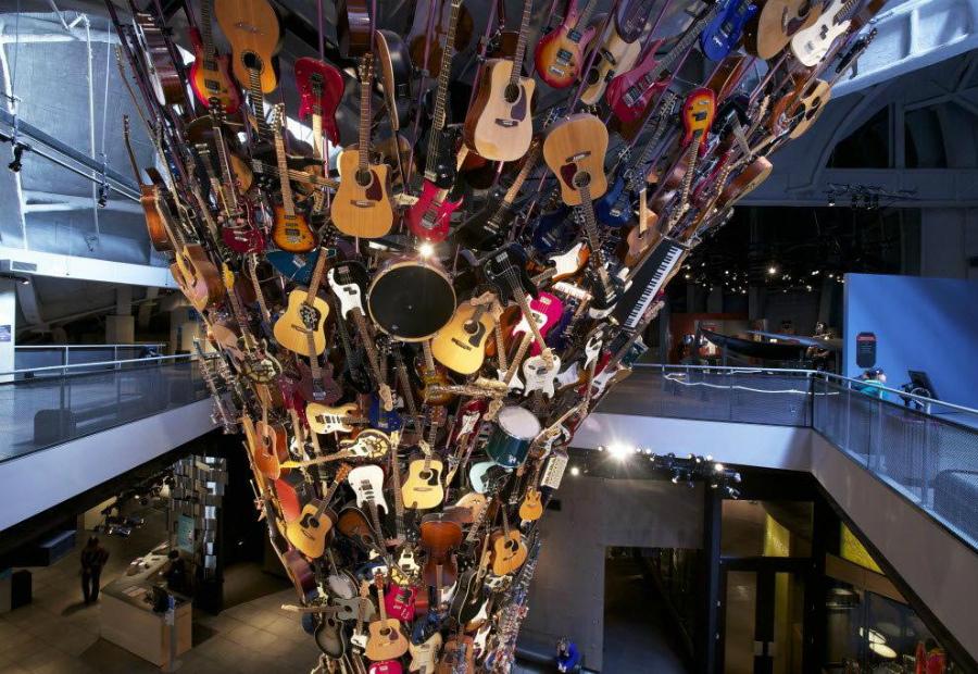 Музей музыки в Сиэтле