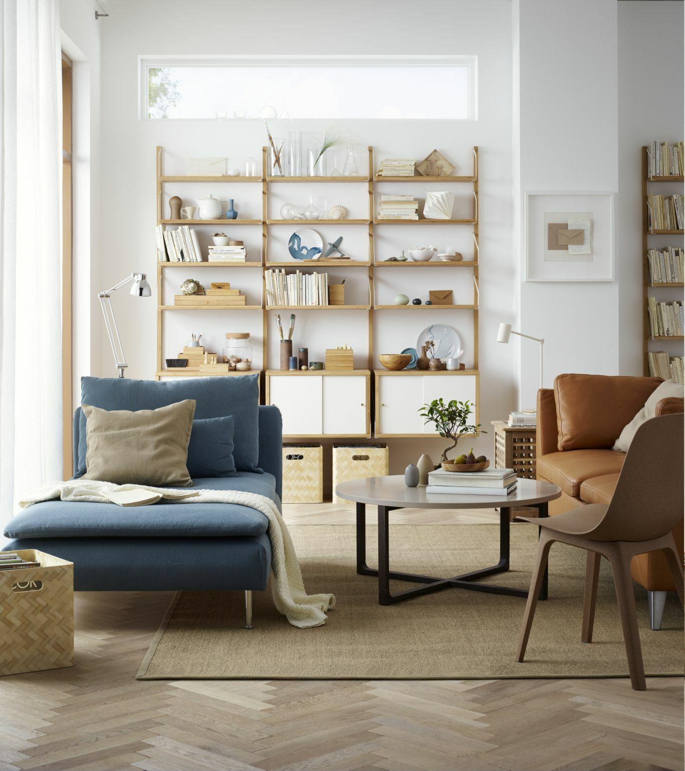 мебель комнаты на северной стороне
