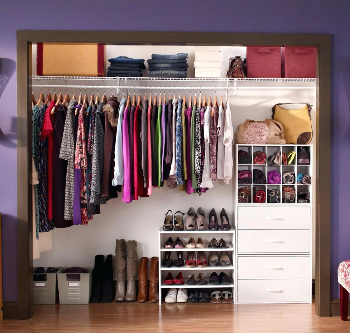 как хранить вещи в шкафу