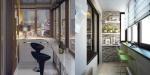Даже маленькая лоджия — это комната! 30 дизайнерских идей
