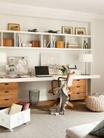 Домашний офис для бизнес-леди