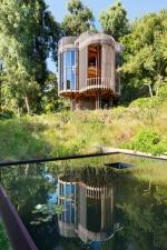 Цилиндрический дом в Кейптауне