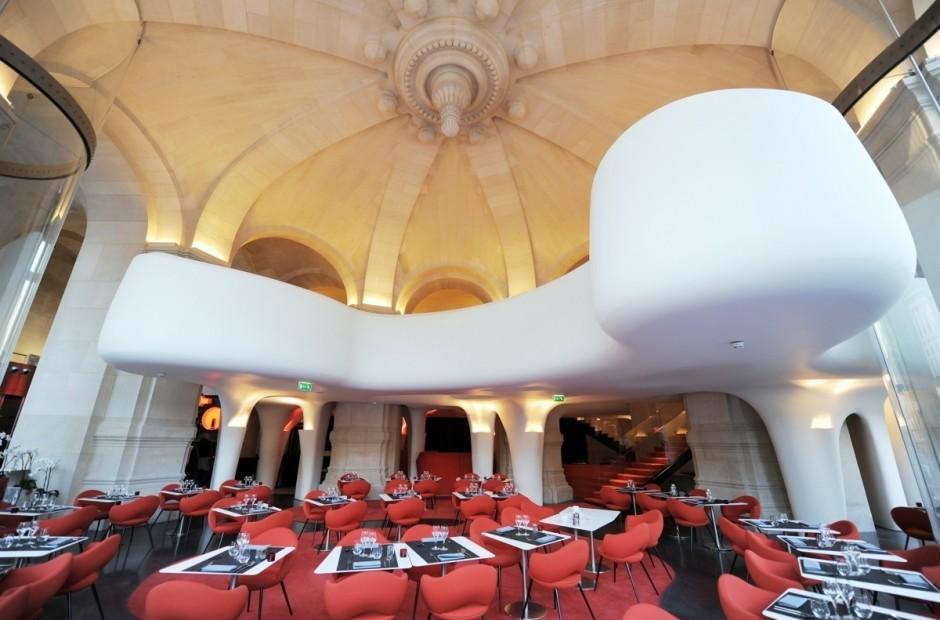 особенности  интерьера  ресторана Phantom в «Гранд-Опера»