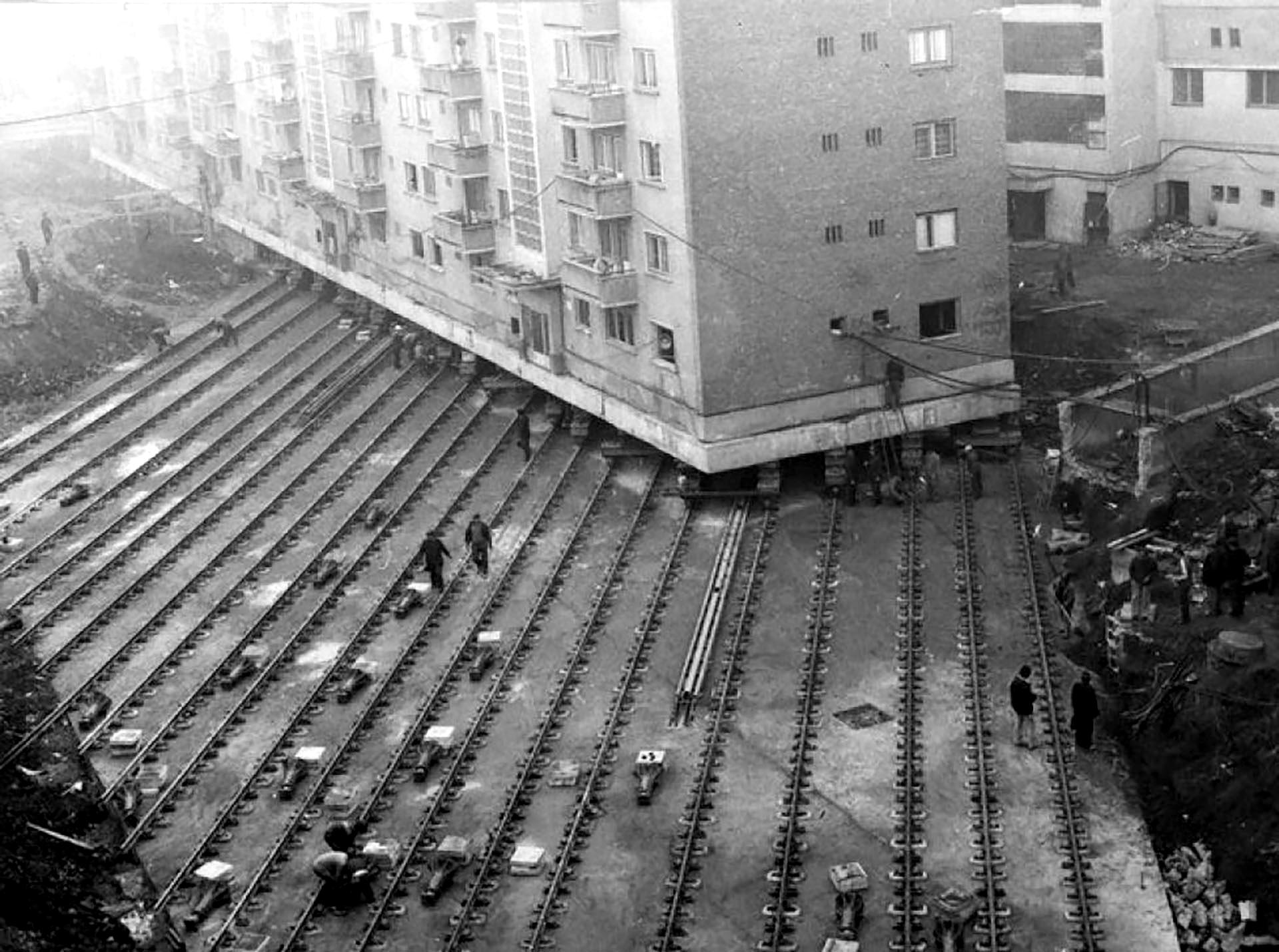 Реконструкция в Москве - советский союз