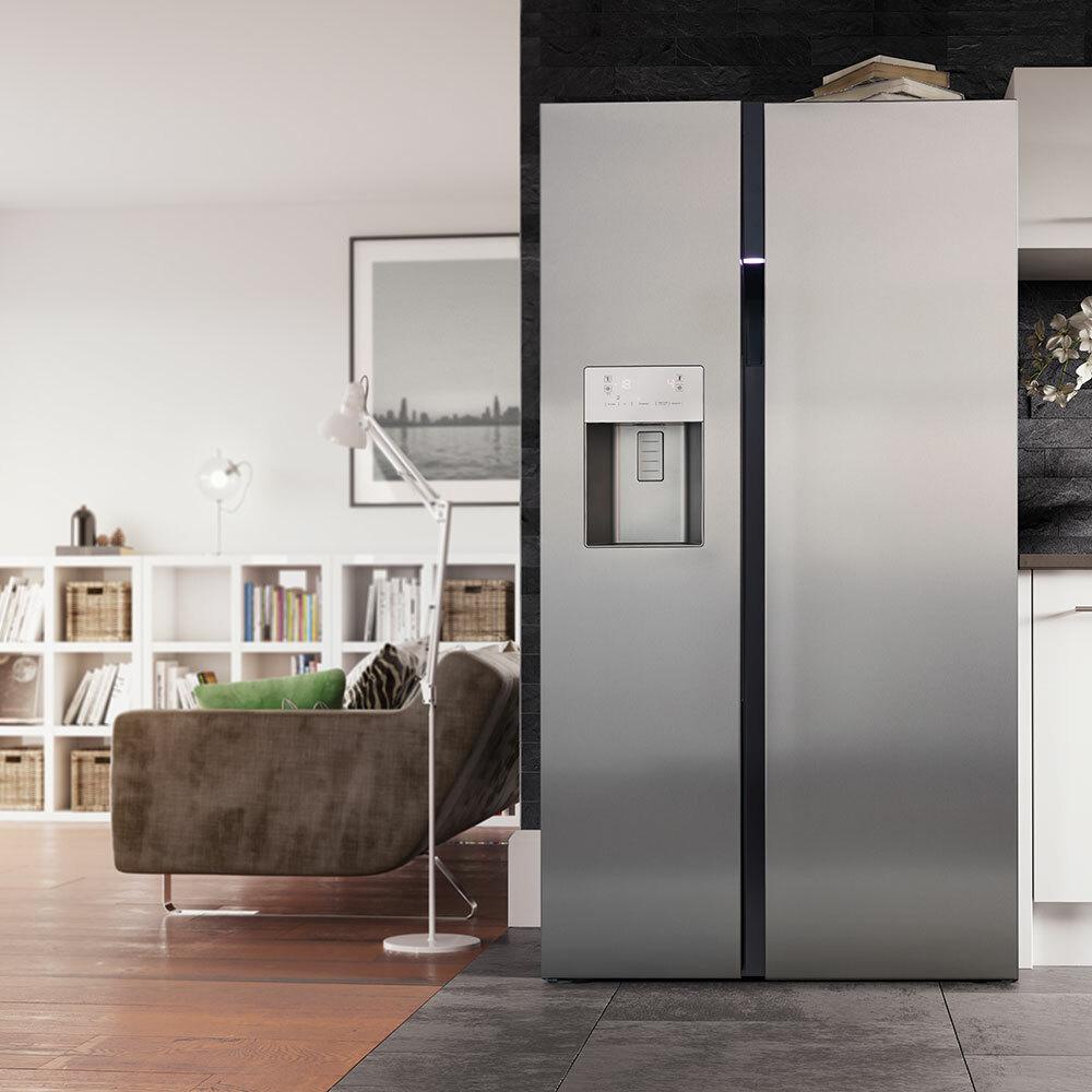 двустворчатый холодильник
