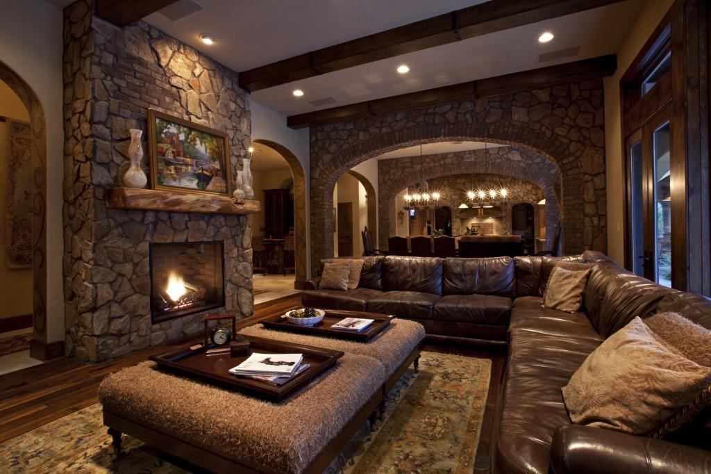 фото дизайн комнаты с диким камнем эти кисти фотошоп