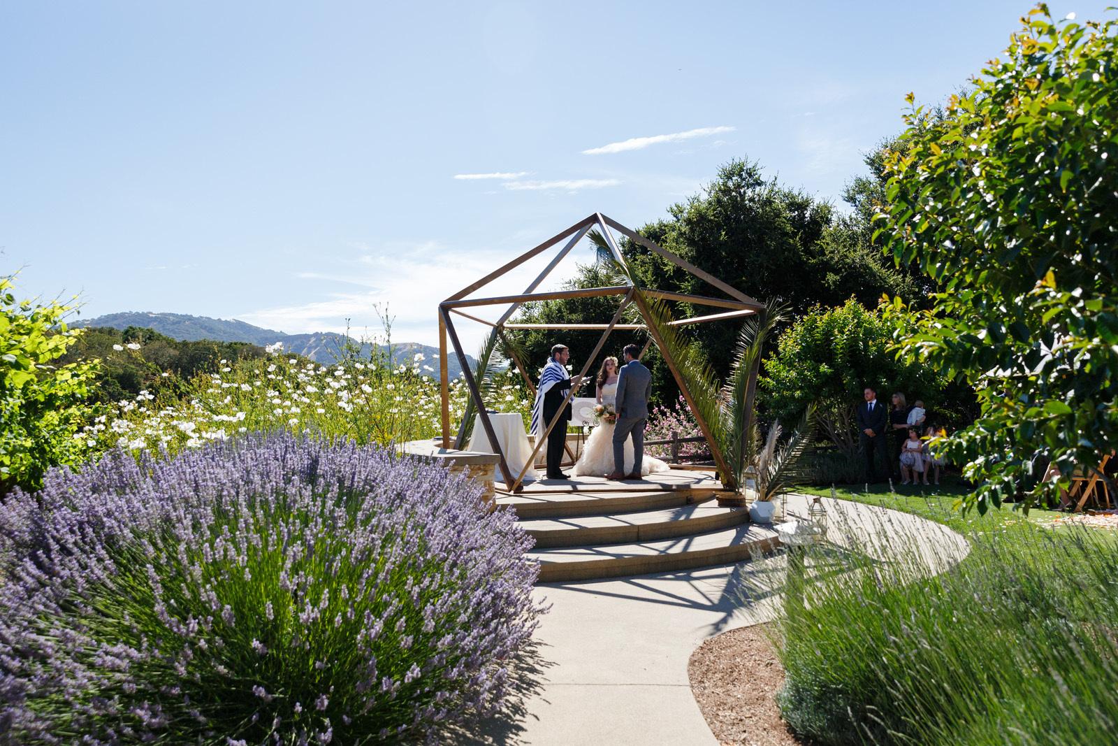 свадебный декор, геометрия стиля