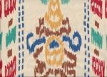 Ткань икат — восточные подушки в интерьере