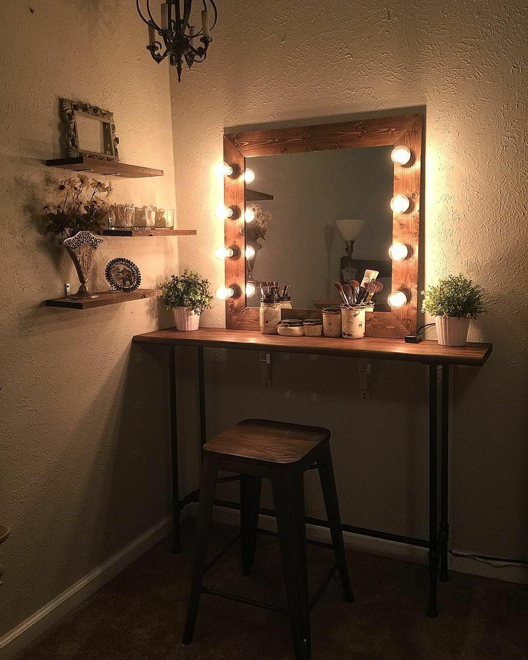 зеркало с подсветкой как элемент декора в интерьере