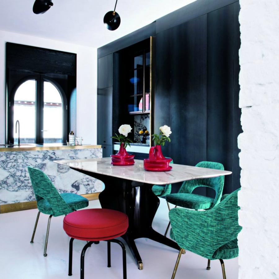 как оформить столовую во французском стиле