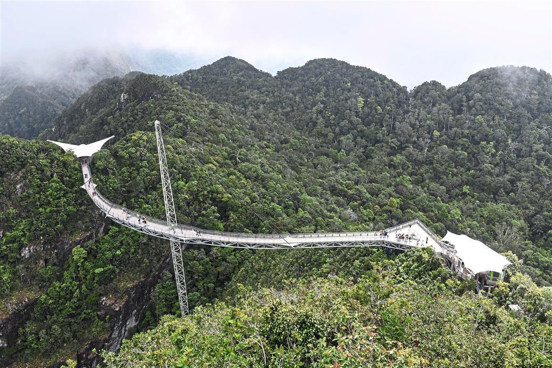 «Небесный мост», остров Лангкави, Малайзия