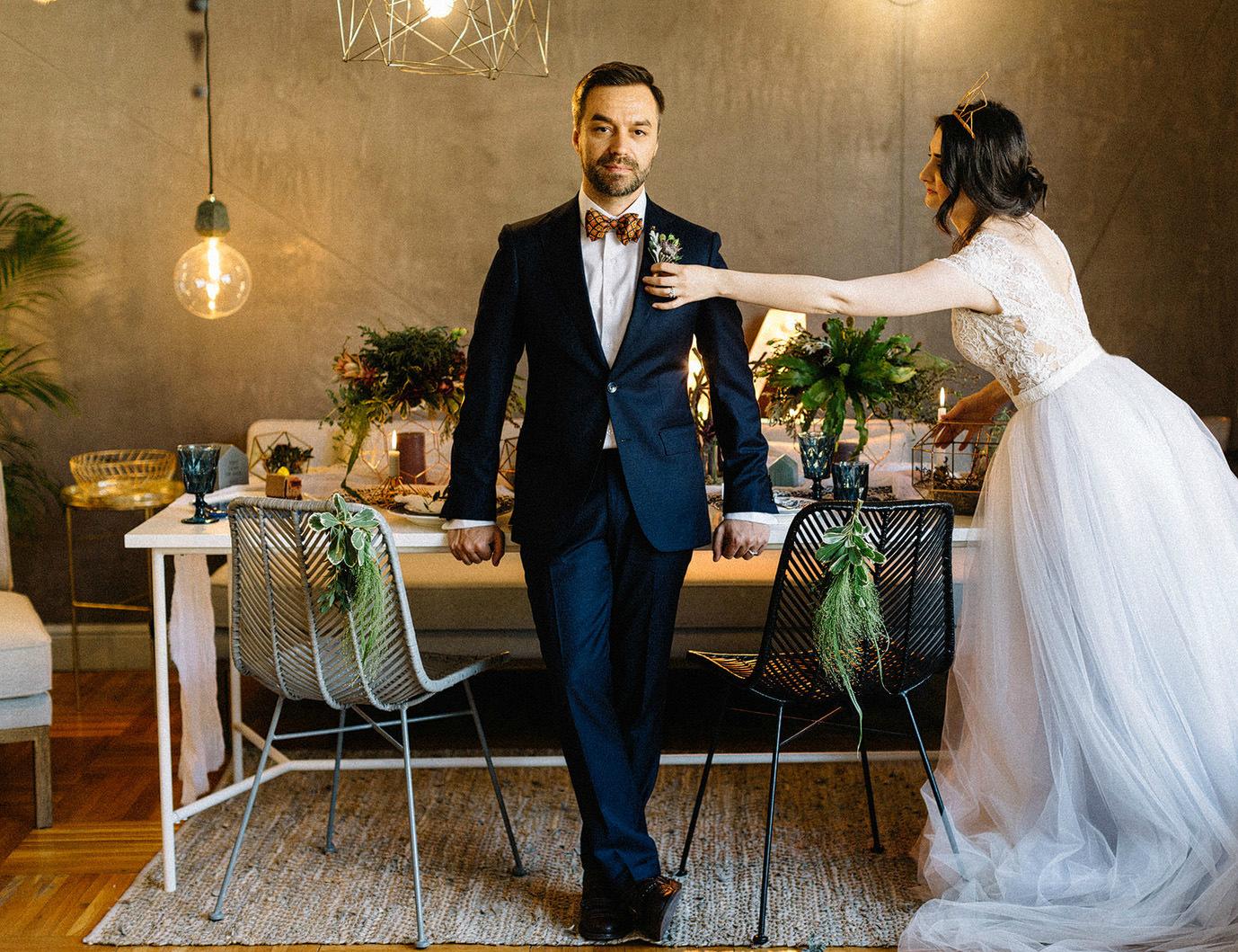 свадьба в скандинавском стиле