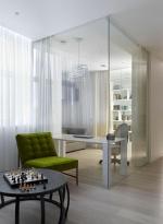 20 стеклянных перегородок: зонируем с умом
