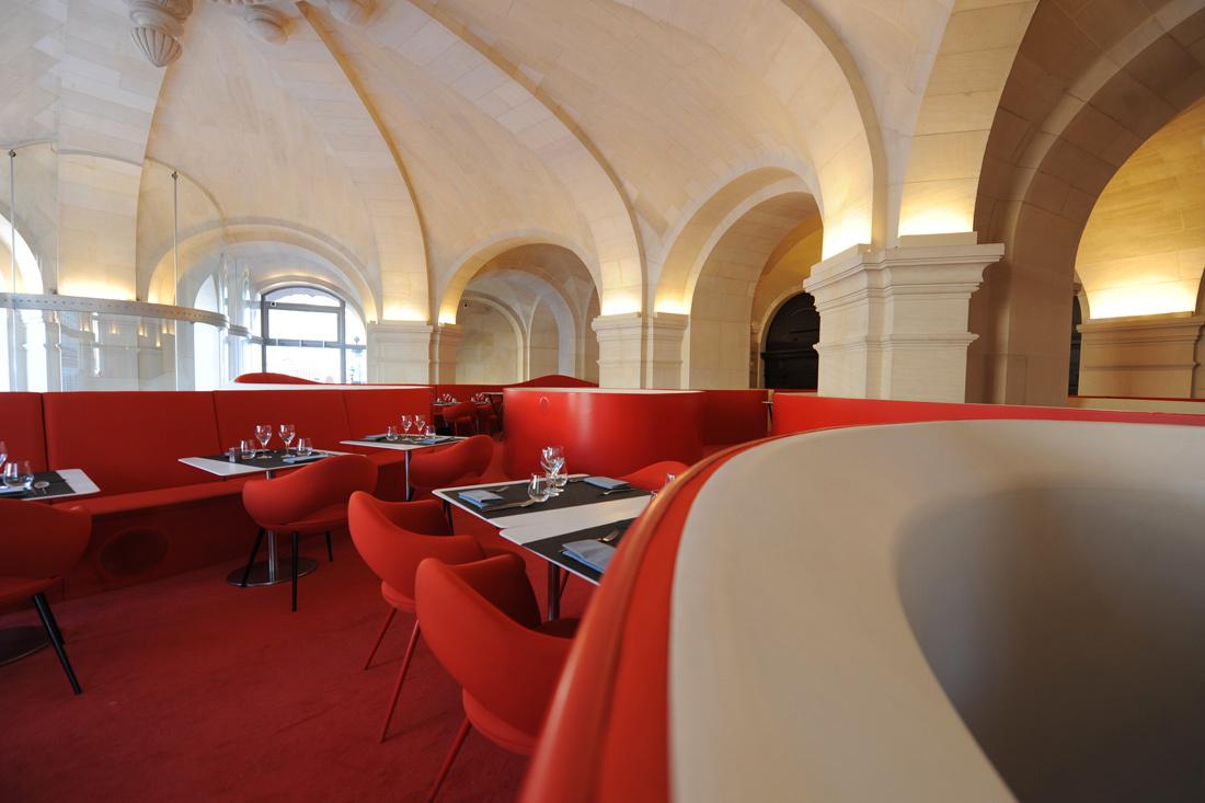 интерьер ресторана Phantom в «Гранд-Опера»