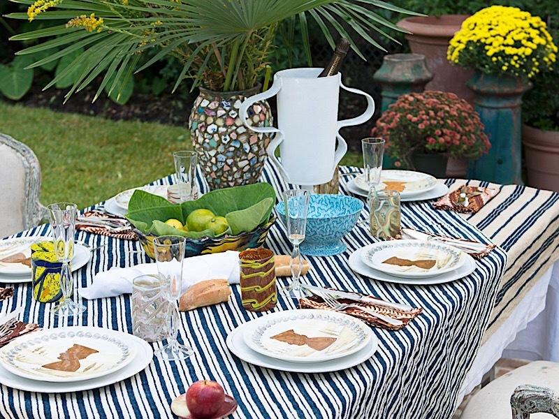 Сервировка на пикнике