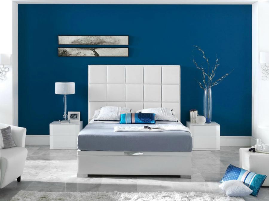 интерьер в стиле космос в спальне