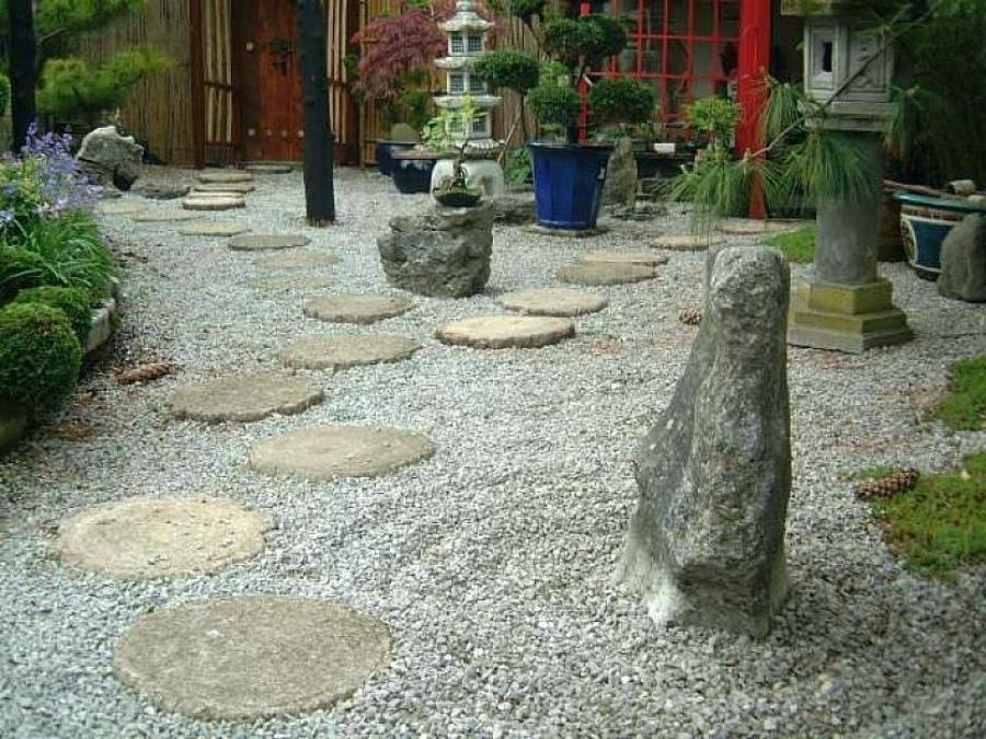 как спроектировать японский сад камней
