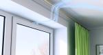 Забудьте о духоте и сквозняках пластиковых окон — установите оконный клапан!