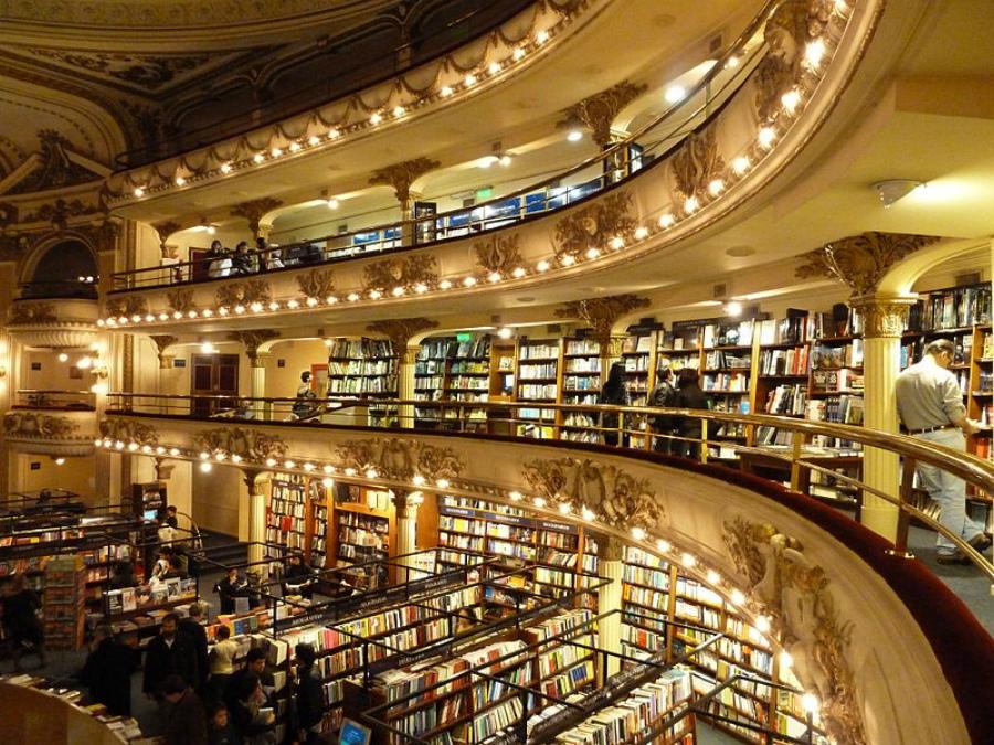 магазин El Ateneo Grand Splendid в Агентине