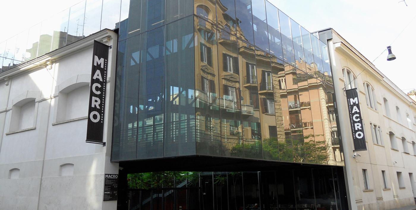 Музей современного искусства MACRO в Риме, архитектор — Одиль Декк