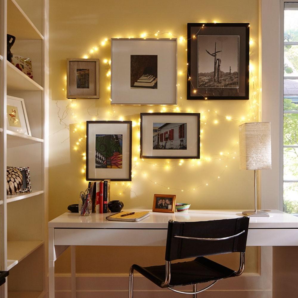 светящийся декор комнат