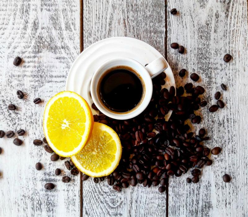 кофе с ромом и апельсином