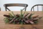 На что способны шишки в новый год! Ароматные гирлянды, венки, подсвечники и игрушки на елку