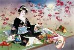 Праздник весны: сакура в интерьере городской квартиры