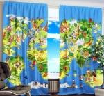 Как выбрать шторы в детскую комнату — подбираем длину, цвет, рисунок