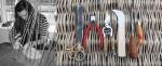 Новый взгляд на парковую скульптуру: плетение из ивовых веток