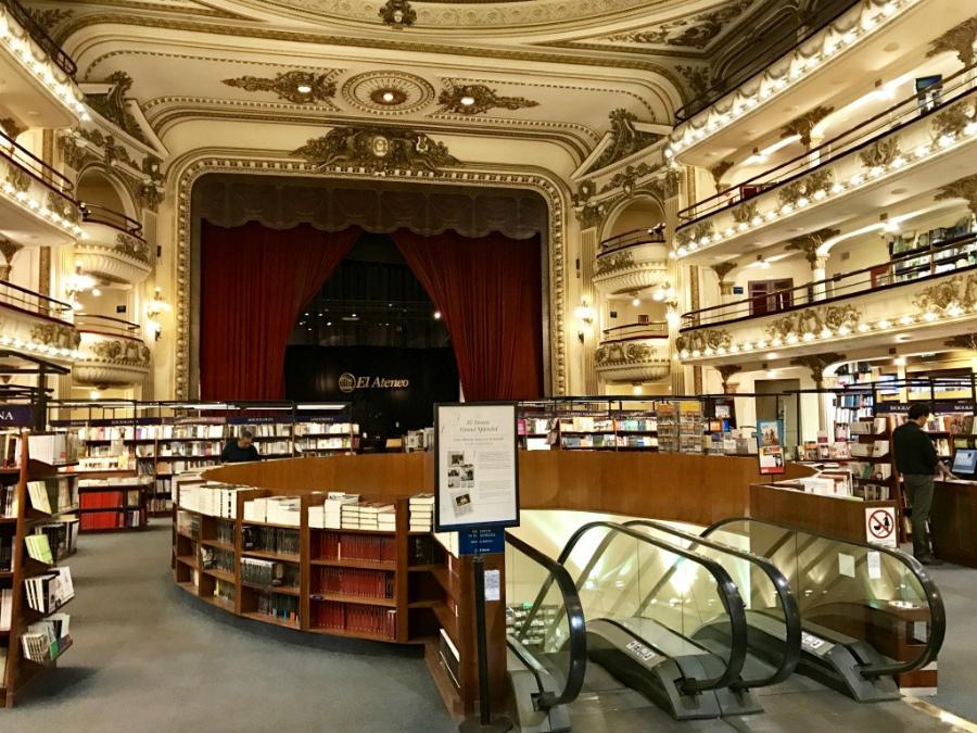 книжный магазин в Агентине