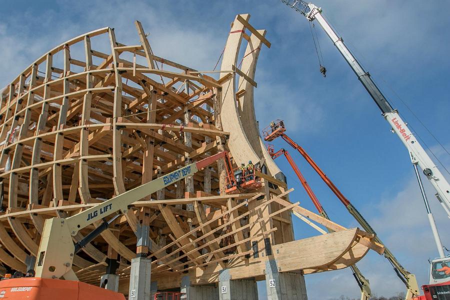конструкция современного Ноева ковчега