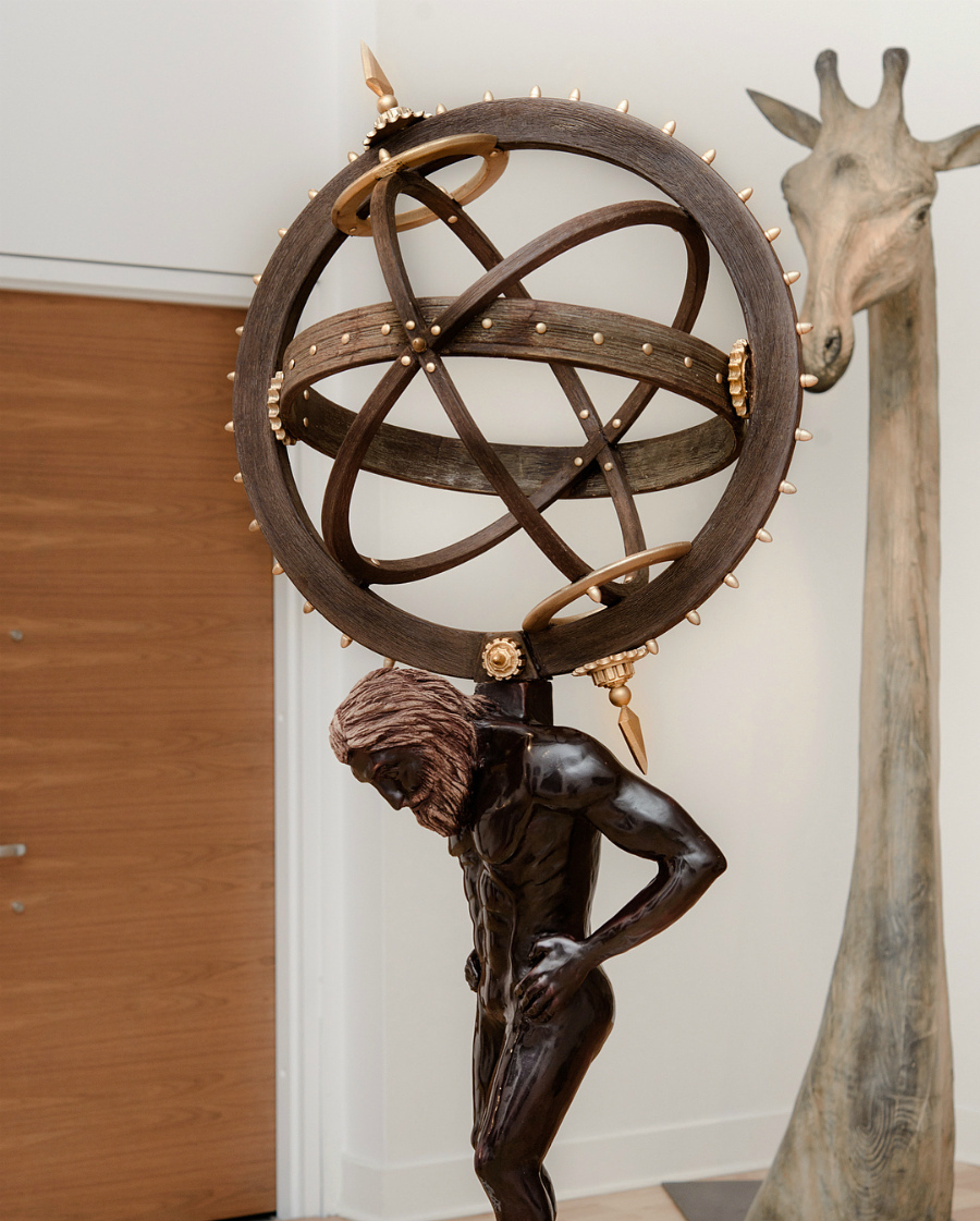 шоколадная скульптура Амори Гишона