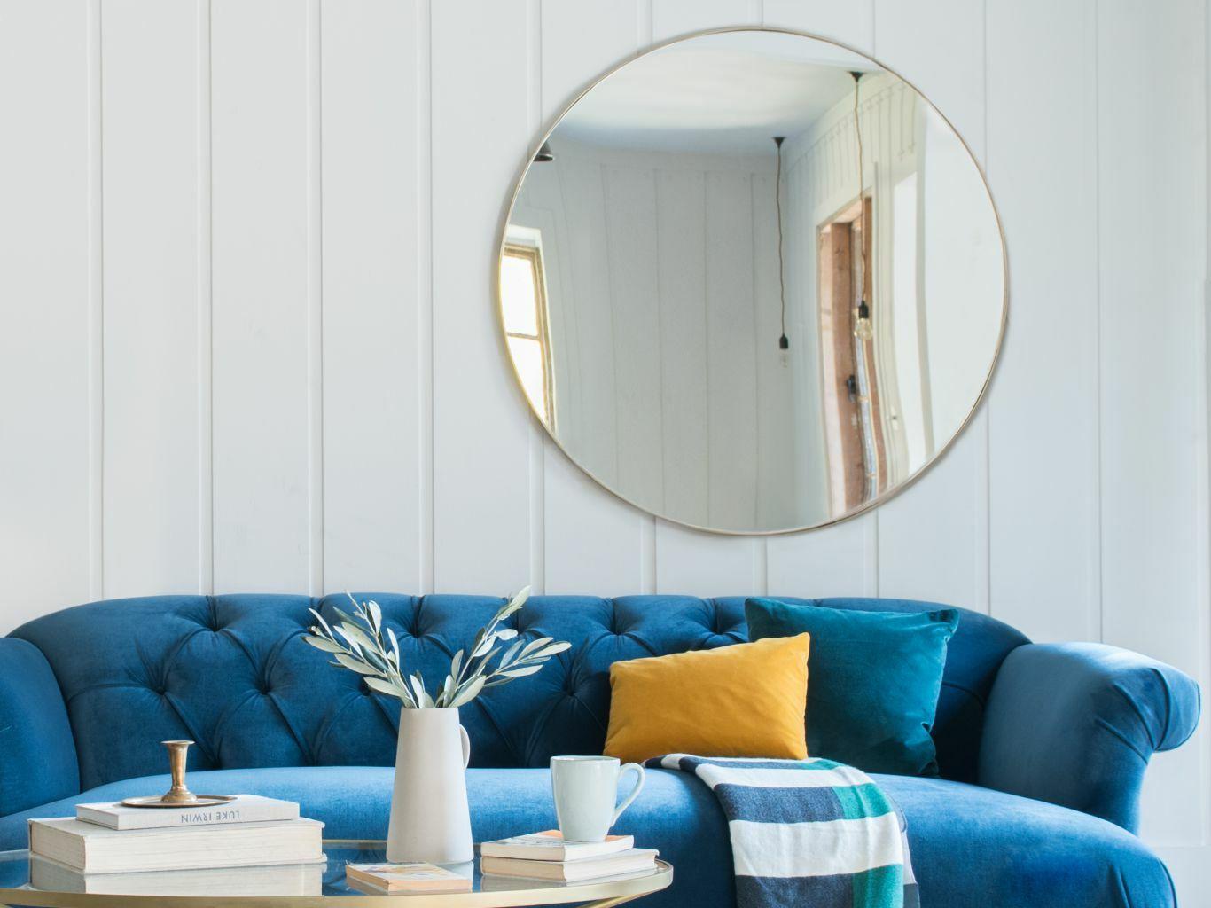 зеркало в комнате на северной стороне
