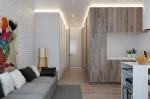 Оформляем интерьер однокомнатной квартиры: преобразуем однушку площадью 40 кв метров