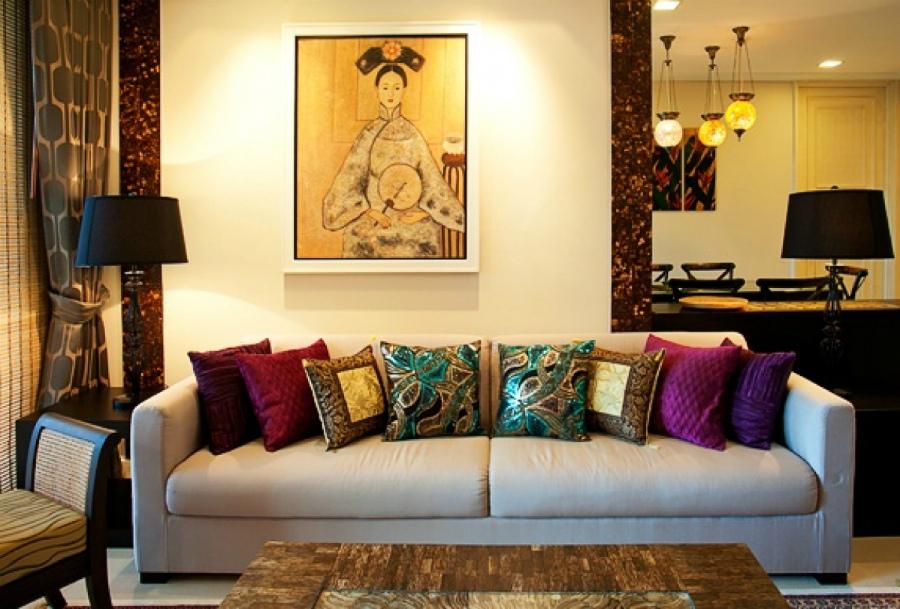 графический дизайн в интерьере квартир