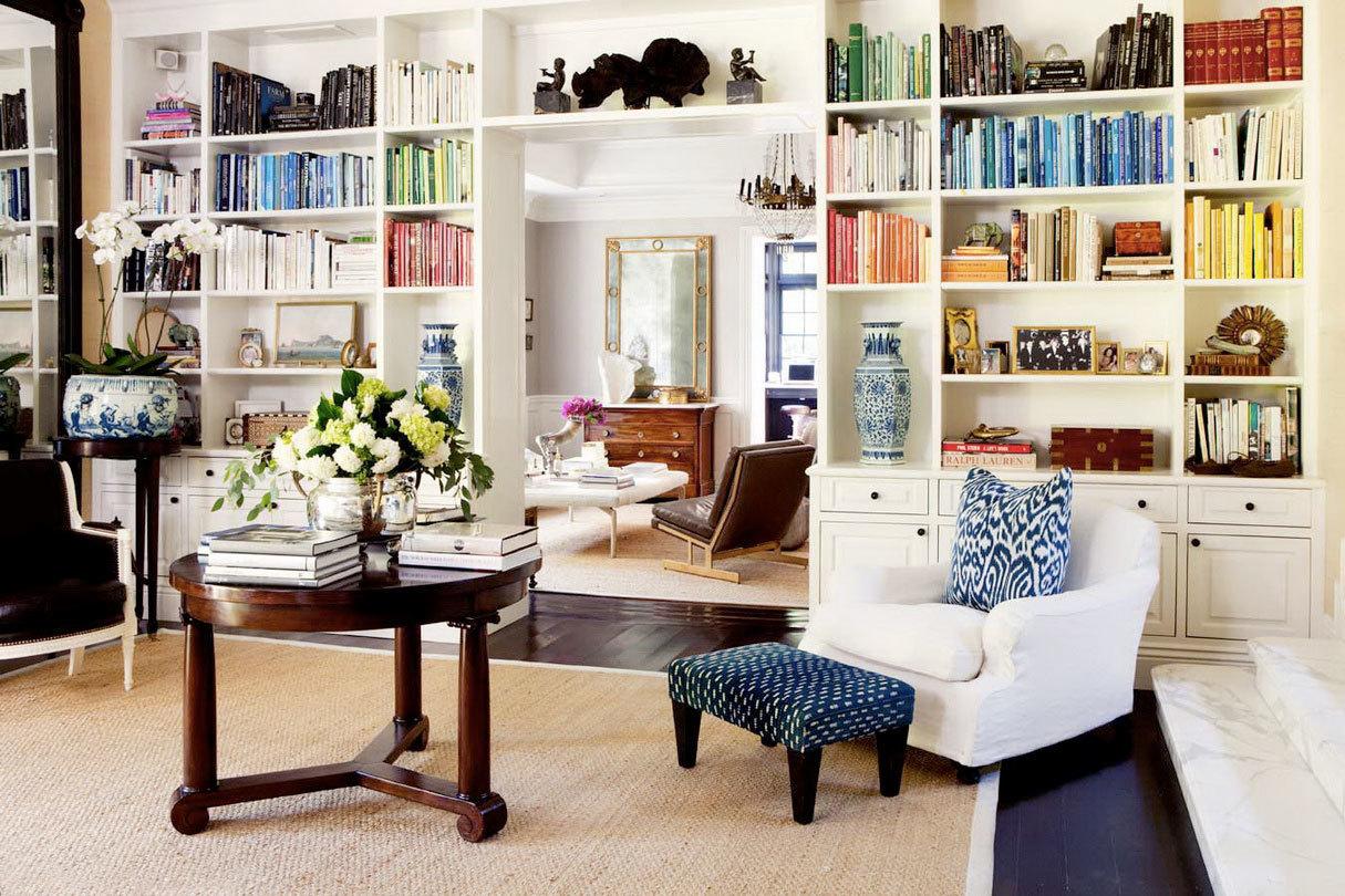 Организация домашней библиотеки в современной квартире