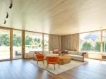 Серый цементный дом может быть красивым