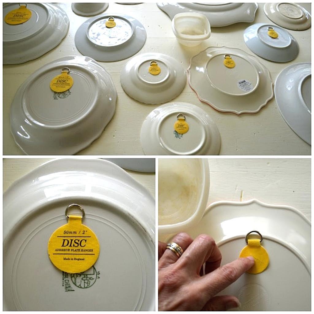 декоративные тарелки как повесить