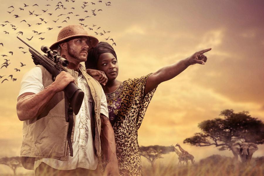 нашего фото африканка в сафари степаново, там главном