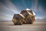 Инсталляции HYBYCOZO: волшебный свет сквозь призму лазерной резки
