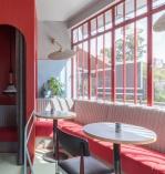 Модный лондонский ресторан в ретро-стиле