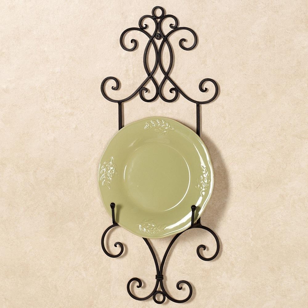 как повесить декоративную тарелку